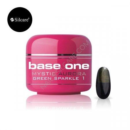 Base One Mystic Aurora - 01 - Base One Mystic Aurora Green Sparkle