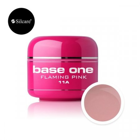 Base One Color Gel - 11A - Base One Color Flaming Pink