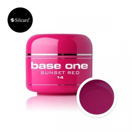 Base One Color Gel - 14 - Base One Color Sunset Red