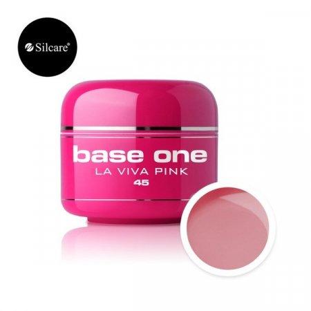 Base One Color Gel - 45 - Base One Color La Viva Pink