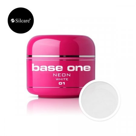 Base One Neon - 01 - Base One Neon Gel White