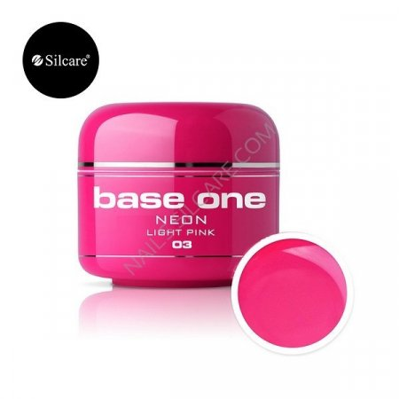 Base One Neon - 03 - Base One Neon Gel Light Pink