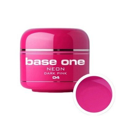 Base One Neon - 04 - Base One Neon Gel Dark Pink