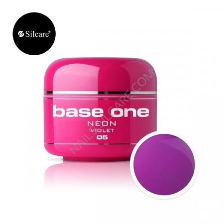 Base One Neon - 05 - Base One Neon Gel Violet