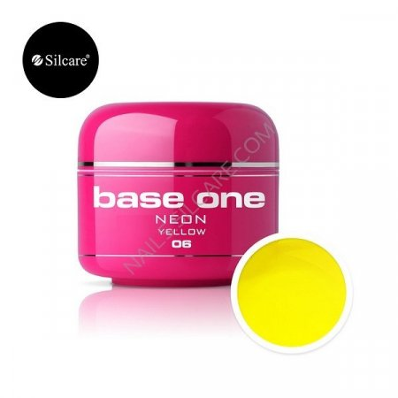 Base One Neon - 06 - Base One Neon Gel Yellow