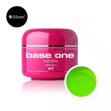 Base One Neon - 07 - Base One Neon Gel Green