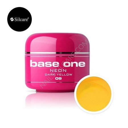 Base One Neon - 09 - Base One Neon Gel Dark Yellow