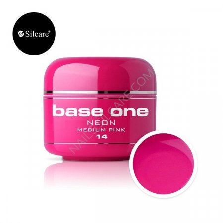 Base One Neon - 14 - Base One Neon Gel Medium Pink