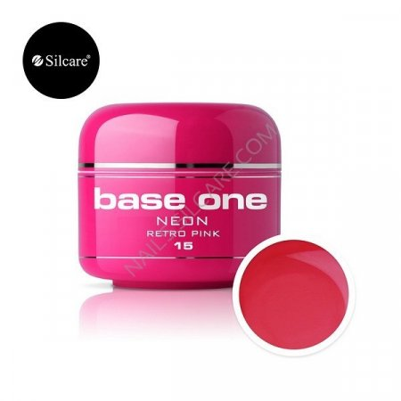 Base One Neon - 15 - Base One Neon Gel Retro Pink