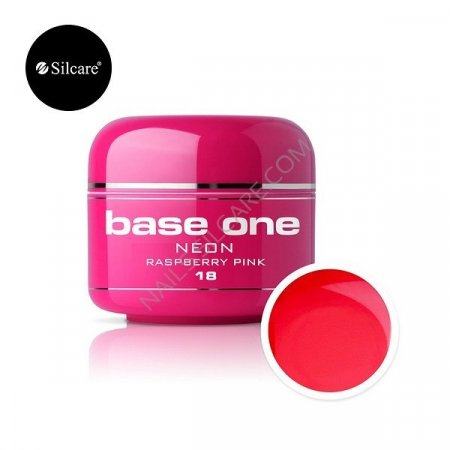 Base One Neon - 18 - Base One Neon Gel Raspberry Pink