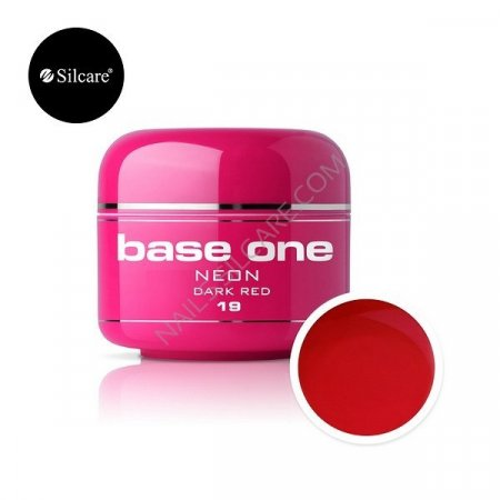 Base One Neon - 19 - Base One Neon Gel Dark red
