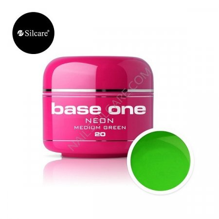Base One Neon - 20 - Base One Neon Gel Medium Green