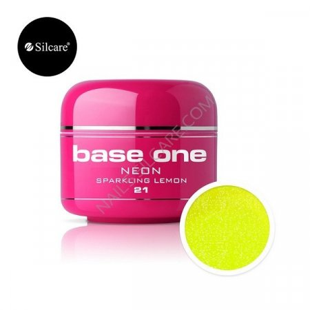 Base One Neon - 21 - Base One Neon Gel Sparkling Lemon
