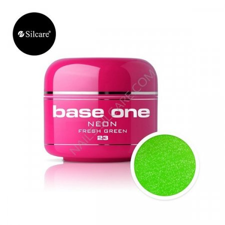 Base One Neon - 23 - Base One Neon Gel Fresh Green