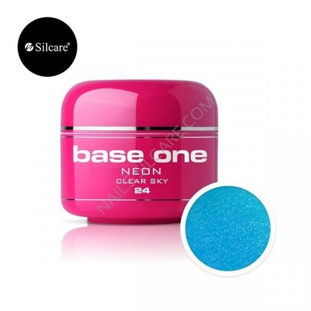 Base One Neon - 24 - Base One Neon Gel Clear Sky