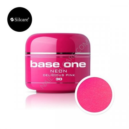 Base One Neon - 30 - Base One Neon Gel Delicious Pink