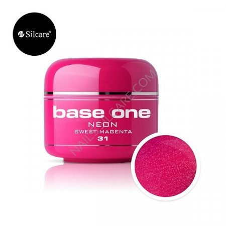 Base One Neon - 31 - Base One Neon Gel Sweet Magenta
