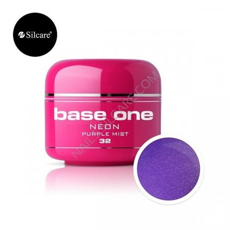 Base One Neon - 32 - Base One Neon Gel Purple Mist