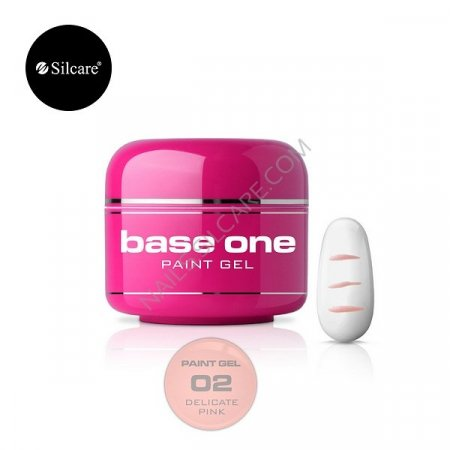 Base One Paint Gel - 02 - Base One Paint Gel Delicate Pink