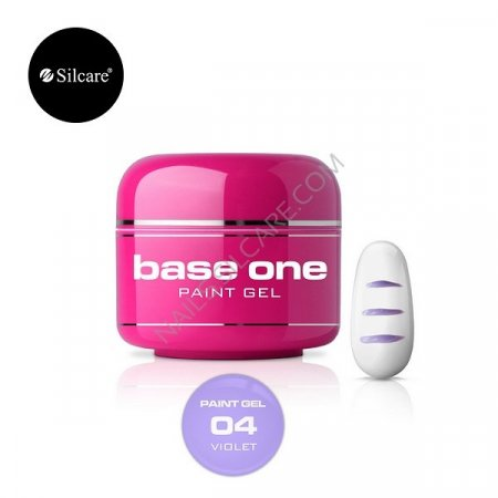 Base One Paint Gel - 04 - Base One Paint Gel Violet