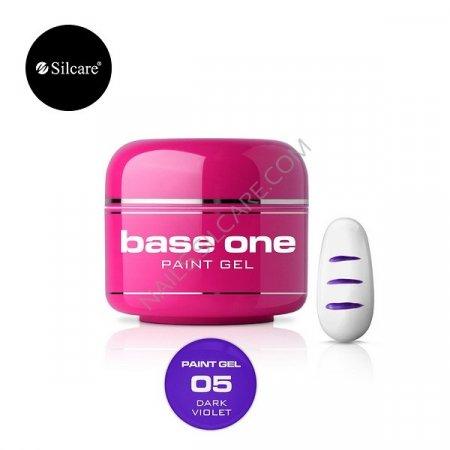 Base One Paint Gel - 05 - Base One Paint Gel Dark Violet