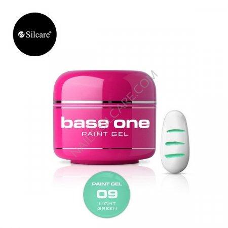 Base One Paint Gel - 09 - Base One Paint Gel Light Green