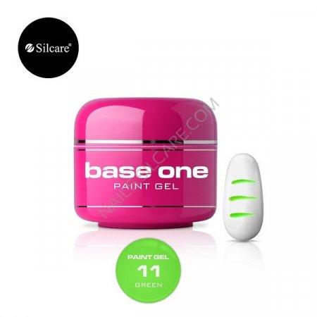 Base One Paint Gel - 11 - Base One Paint Gel Green