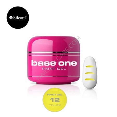 Base One Paint Gel - 12 - Base One Paint Gel Yellow
