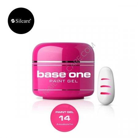 Base One Paint Gel - 14 - Base One Paint Gel Amaranth