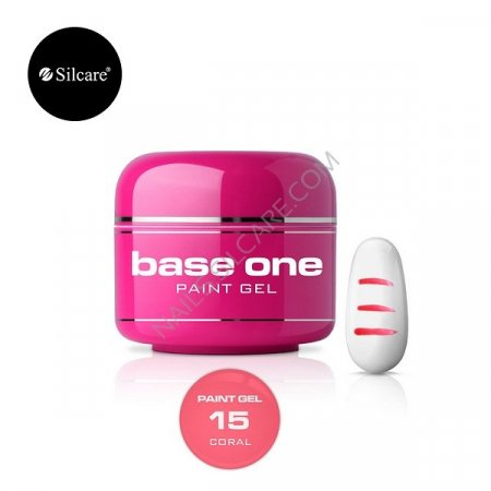 Base One Paint Gel - 15 - Base One Paint Gel Coral