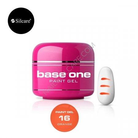 Base One Paint Gel - 16 - Base One Paint Gel Orange
