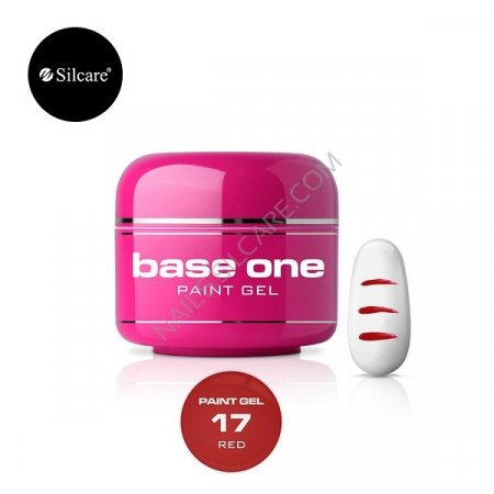 Base One Paint Gel - 17 - Base One Paint Gel Red