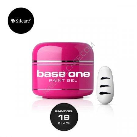 Base One Paint Gel - 19 - Base One Paint Gel Black