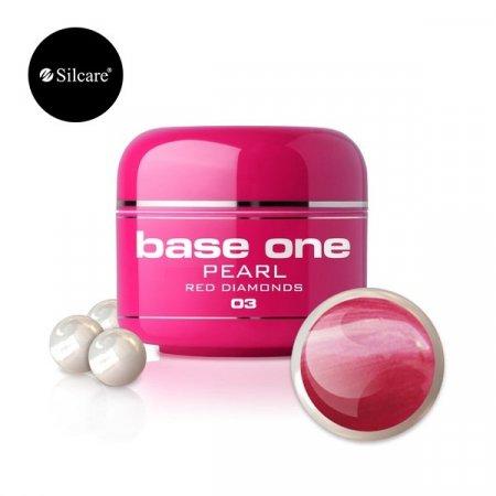 Base One Pearl - 03 - Base One Pearl Red Diamonds