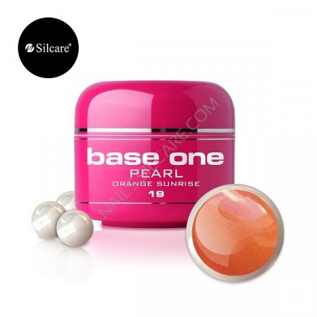 Base One Pearl - 19 - Base One Pearl Orange Sunrise