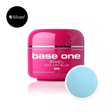 Base One Pixel - 04 - Base One Pixel Pop Art Bluen