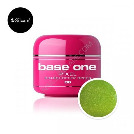 Base One Pixel - 06 - Base One Pixel Grasshopper Green
