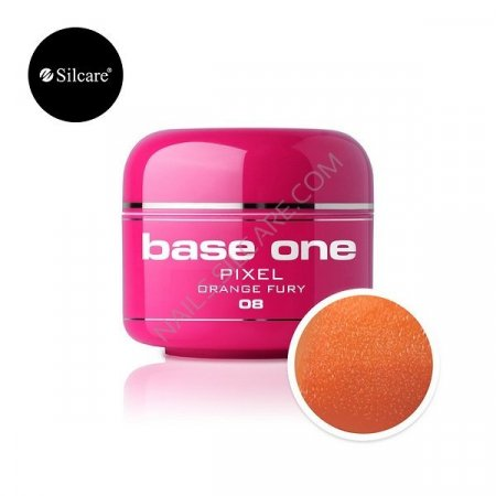 Base One Pixel - 08 - Base One Pixel Orange Fury