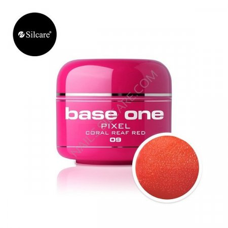 Base One Pixel - 09 - Base One Pixel Coral Reef Red