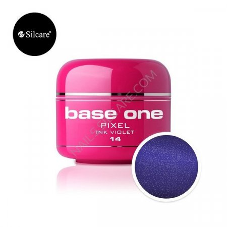 Base One Pixel - 14 - Base One Pixel Ink Violet