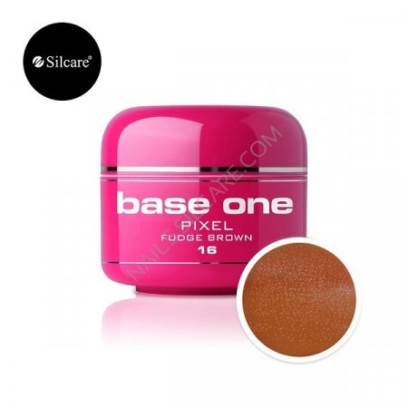 Base One Pixel - 16 - Base One Pixel Fudge Brown
