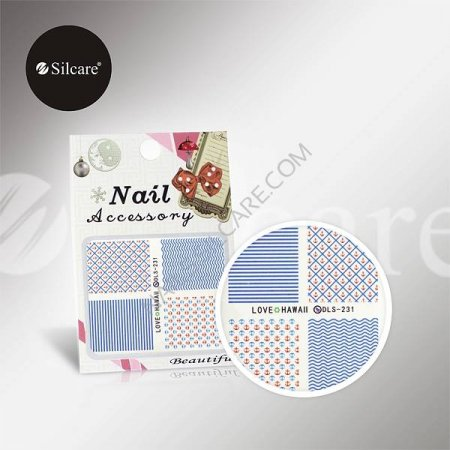 Silcare Water Stickers DLS231