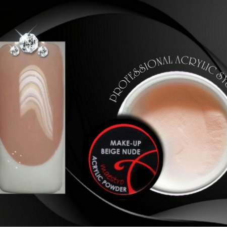 MAKE-UP BEIGE NUDE Acrylic Powder Maestro - 15g