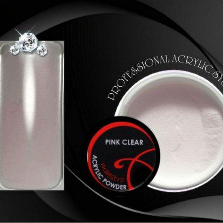 PINK CLEAR Acrylic Powder Maestro