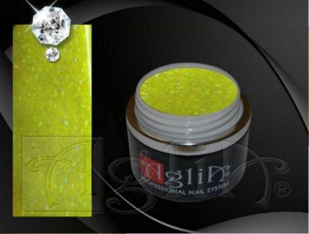 NEON - Quick Led/UV gel - 5 ml - Crazy Yellow Glitter