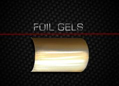 Gel color LED / UV FOIL - 5 ml - Black Foil
