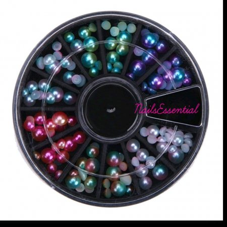 Mezze Perle Colorate A/B