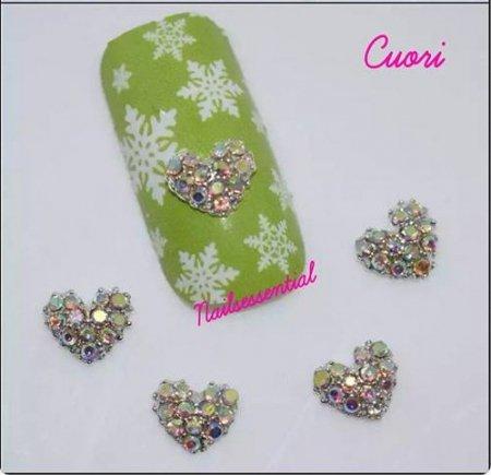 Decorazioni Ali d'Angelo e Cuore - Cuore Diamante