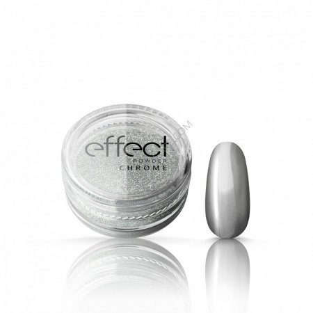 Silcare Effect Powder (Mirror, Opal, Chrome, Gold) - Chrome