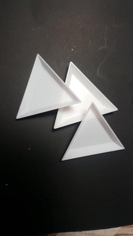 Triangolo raccogli glitter